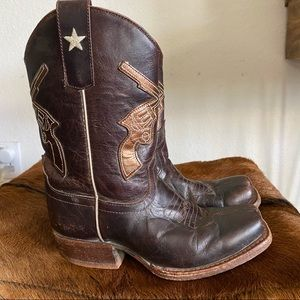 Anderson Bean Boot Company Boys Brown Leather Boot